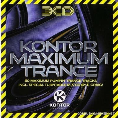 Kontor Maximum Trance vol 1 [2005] / 3xCD