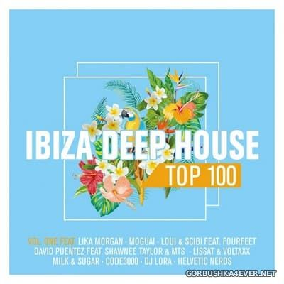 Ibiza Deep House Top 100 vol 1 [2017] / 2xCD / Mixed by DJ Deep