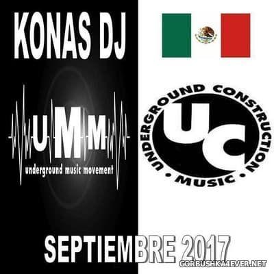 Konas DJ - Septiembre Mix 2017