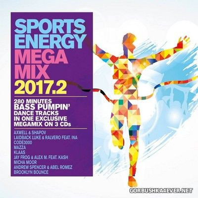 Sports Energy Megamix 2017.2 [2017] / 3xCD