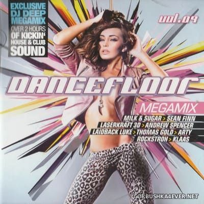 VA - Dancefloor Megamix vol 09 [2012] / 2xCD / Mixed by DJ Deep