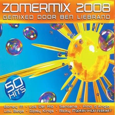 Zomermix 2008 / 2xCD / Mixed by Ben Liebrand