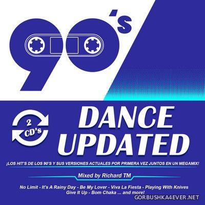 VA - 90's Dance Updated [2017] / 2xCD / Mixed by Richard TM