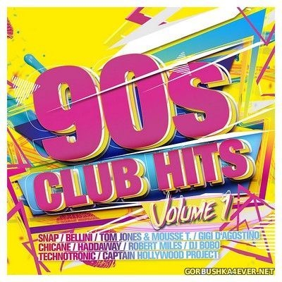90s Club Hits vol 1 [2016] / 2xCD