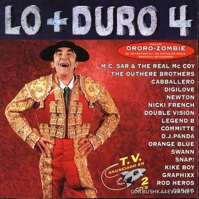 [Max Music] Lo+Duro 4 [1995] / 2xCD