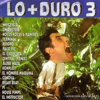 [Max Music] Lo+Duro 3 [1993] / 2xCD