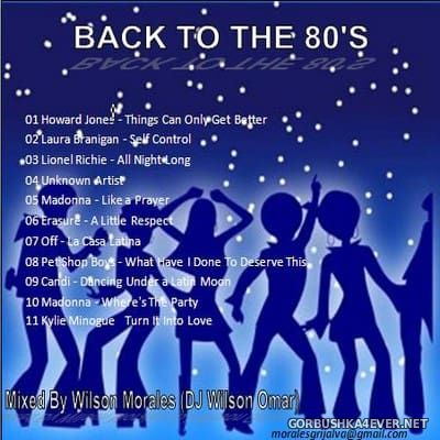 DJ Wilson Omar - Back to the 80's [2012]