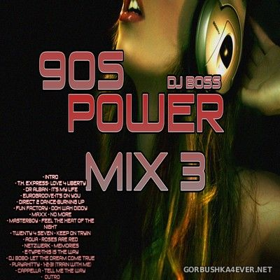 DJ Ridha Boss - 90s Power Mix vol 3 [2017]