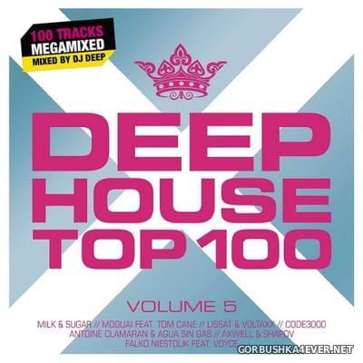Deep House Top 100 vol 5 [2017] / 2xCD / Mixed by DJ Deep