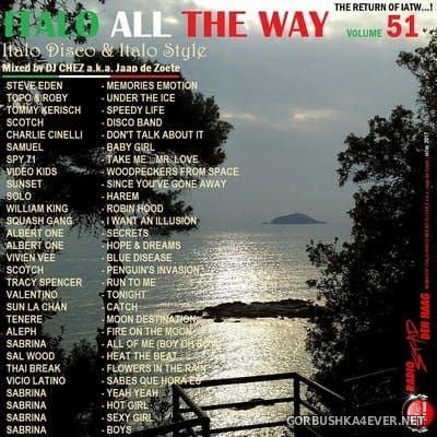 DJ Chez - Italo All The Way vol 51 [2017]
