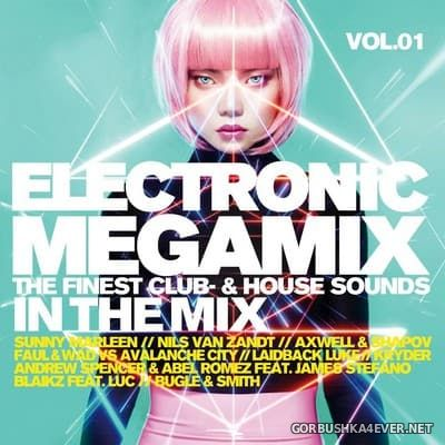 Electronic Megamix vol 1 [2017] / 2xCD / Mixed by DJ Deep