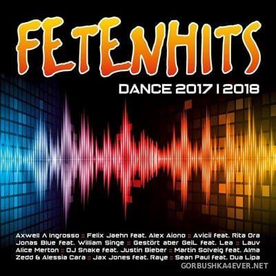 Fetenhits - Dance 2017-2018 [2017] / 2xCD