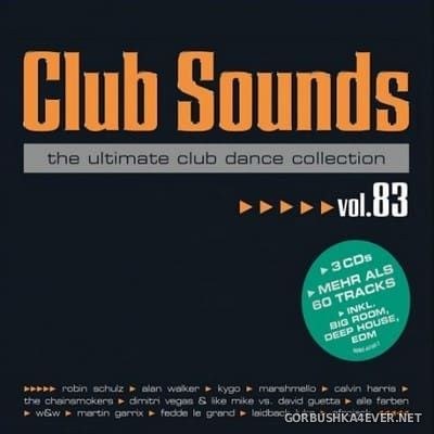 Club Sounds vol 83 [2017] / 3xCD