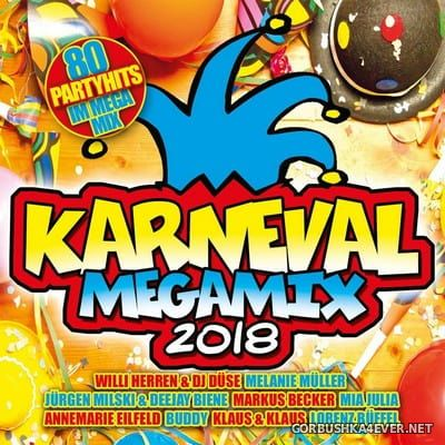 Karneval Megamix 2018 [2017] / 2xCD / Mixed by DJ Deep