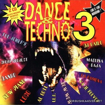 [Barcelona Urban Sound] Dance & Techno 3 [1994] / 2xCD