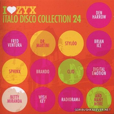 ZYX Italo Disco Collection vol 24 [2017] / 3xCD