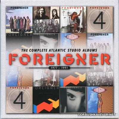 Foreigner - The Complete Atlantic Studio Albums [2014] / 7xCD