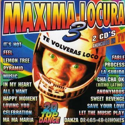 [Choco Music] Maxima Locura 3 [1996] / 2xCD