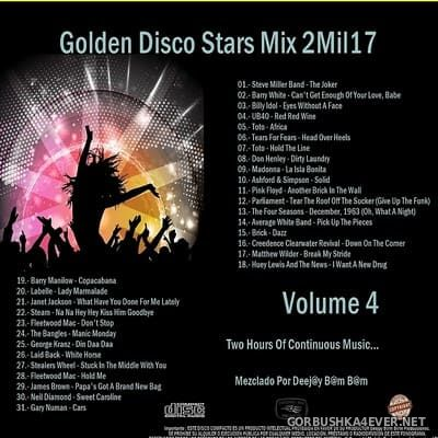 DJ Bam Bam - Golden Disco Stars Mix 2Mil17 Volume 4