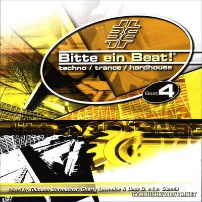 [EMI Music] Bitte Ein Beat! - Beat 4 [2002] / 2xCD / Mixed by Tillman Urhmacher, Charly Lownoise & DJ Dennis