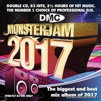 [DMC] Monsterjam 2017 / 2xCD / Mixed By ALLSTAR