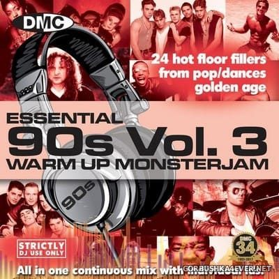 [DMC] Monsterjam - Essential 90's Warm Up vol 03 [2017] Mixed By DJ Ivan Santana