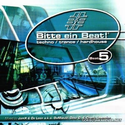 [EMI Music] Bitte Ein Beat! - Beat 5 [2002] / 2xCD / Mixed by DuMonde & JamX & De Leon & Charly Lownoise & Deaz D
