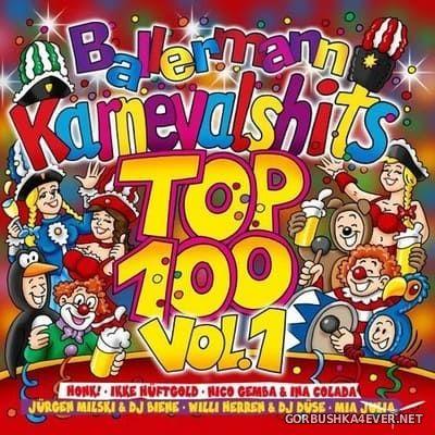 VA - Ballermann Karnevalshits Top 100 vol 1 [2018] / 2xCD / Mixed by DJ Deep