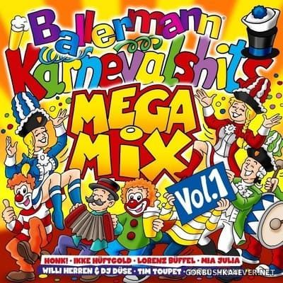 Ballermann Karnevalshits Mega Mix vol 1 [2018] / 2xCD / Mixed by DJ Deep