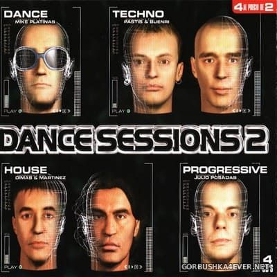 [Max Music] Dance Sessions 2 [1998] / 4xCD
