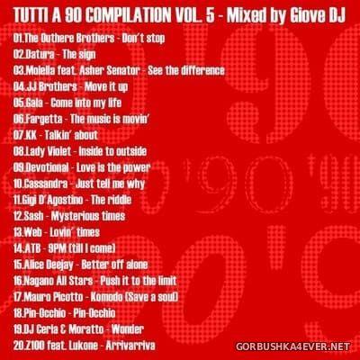 Giove DJ - Tutti a 90 Compilation vol 5