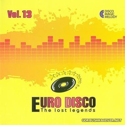 Euro Disco - The Lost Legends vol 13 [2017]
