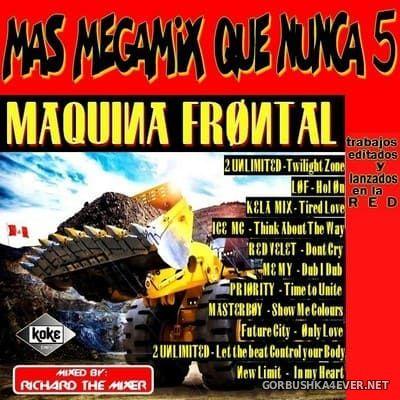 Mas Megamix Que Nunca 5 [2017] By Richard The Mixer