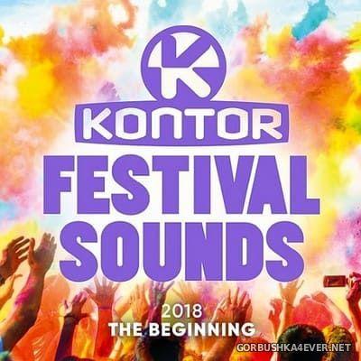 [Kontor] Festival Sounds 2018 - The Beginning [2018] / 3xCD
