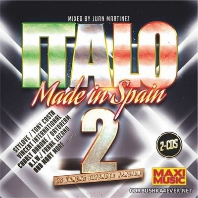 [Maxi Music] Italo Made In Spain vol 2 [2017] / 2xCD