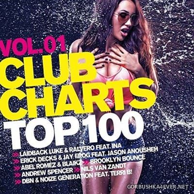 Club Charts Top 100 vol 1 [2018] / 2xCD / Mixed by DJ Deep