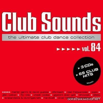Club Sounds vol 84 [2018] / 3xCD