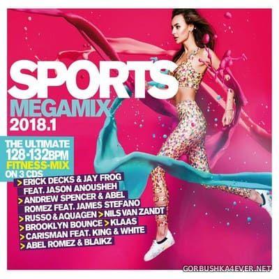 Sports Megamix 2018.1 [2018] / 3xCD / Mixed by DJ Deep