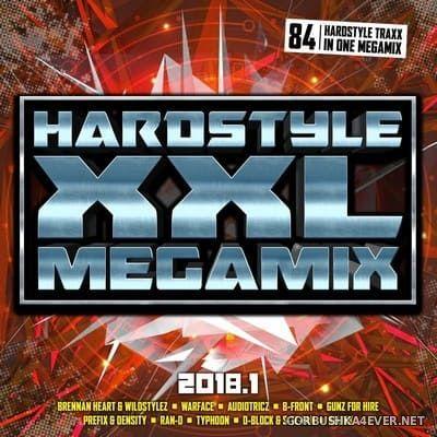 Hardstyle XXL Megamix 2018.1 [2018] / 2xCD / Mixed by DJ Deep