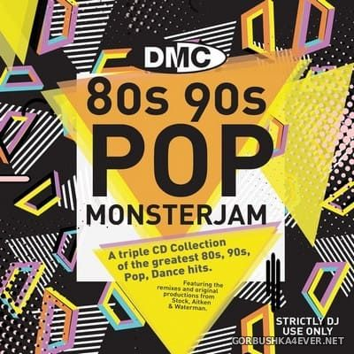 [DMC] Monsterjam - 80s 90s Pop [2018] / 3xCD / Mixed By Tom Newton