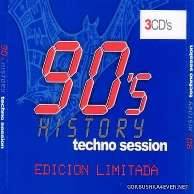 90's History - Techno Session [2002] / 3xCD