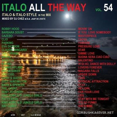 DJ Chez - Italo All The Way vol 54 [2018]