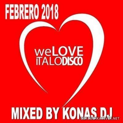 Konas DJ - Italo Disco Febrero Mix [2018]
