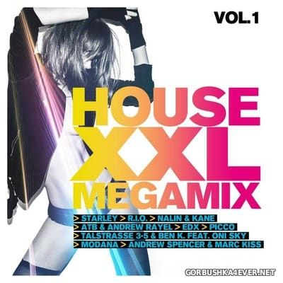 House XXL Megamix vol 1 [2018] / 2xCD