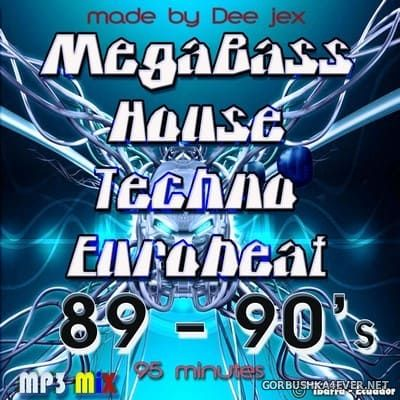 MegaBass House Techno Mix 80s-90s [2018]