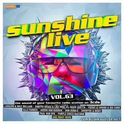 Sunshine Live vol 63 [2018] / 3xCD