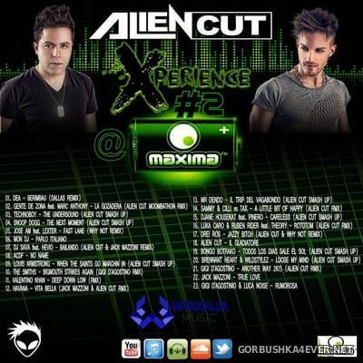 AlienXperience 2 Maxima FM Spain [2016] Mixed By Alien Cut