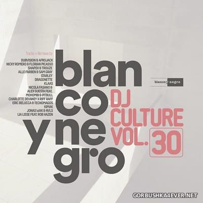 [Blanco Y Negro] DJ Culture vol 30 [2018] / 2xCD