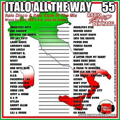 DJ Chez - Italo All The Way vol 55 [2018] RSDH Edition
