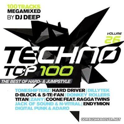 Techno Top 100 vol 26 [2018] / 2xCD / Mixed by DJ Deep